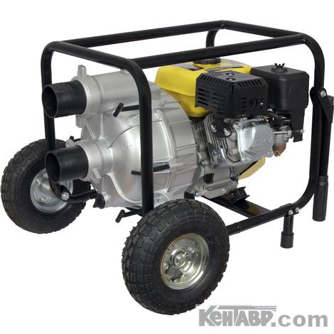 Мотопомпа Кентавр КБМ-80ГКР для грязной воды