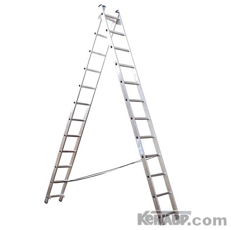 Универсальная лестница КЕНТАВР 2x12