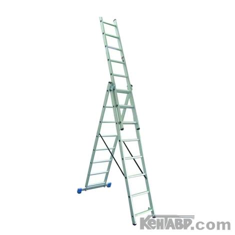 Универсальная 3-х составная лестница КЕНТАВР 3х11