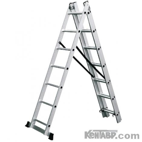 Универсальная 3-х составная лестница КЕНТАВР 3х10