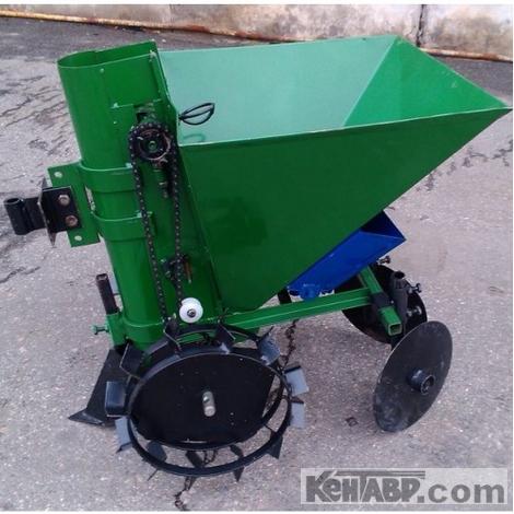 Картофелесажатель мотоблочный Кентавр П-1ЦУ (зеленый)