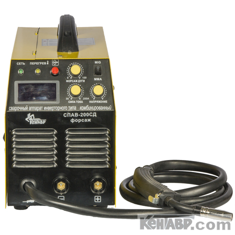 Сварочный аппарат СПАВ-200СД форсаж