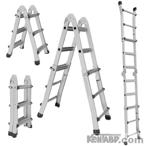 Лестница телескопическая КЕНТАВР 4х5
